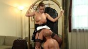 Hotel maid knows how to please good cock